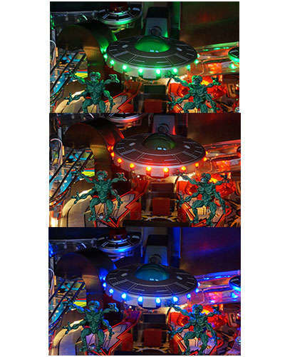 Attack From Mars Special Edition large saucer at Joystix