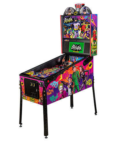 Batman 66 Limited Edition pinball at Joystix