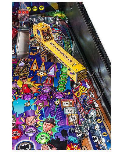 Batman 66 Limited Edition pinball details at Joystix 2