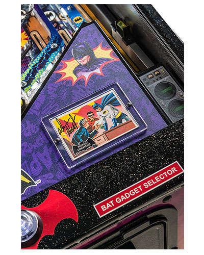 Batman 66 Limited Edition pinball details at Joystix 6