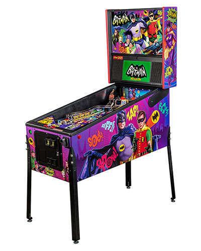 Batman 66 Premium pinball at Joystix