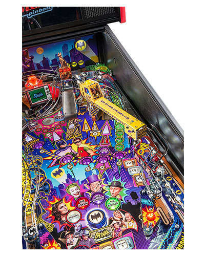 Batman 66 Premium pinball details at Joystix 3