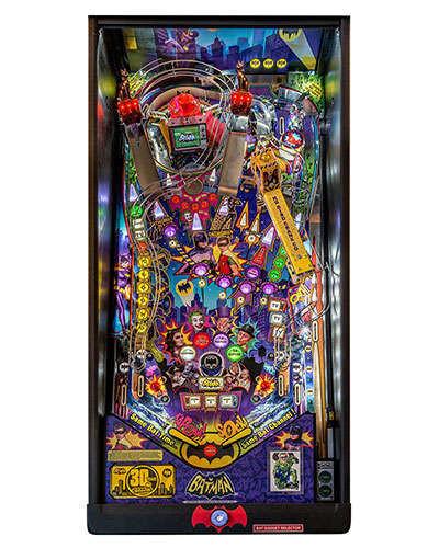 Batman 66 Premium pinball playfield at Joystix