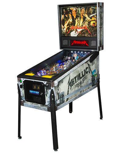 Metallica Premium pinball at Joystix