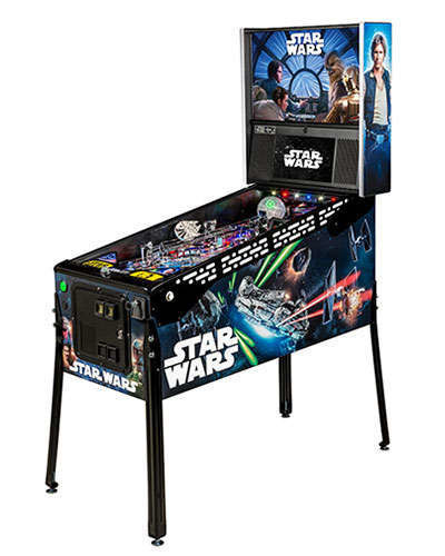 Star Wars Limited Edition Pinball 2 at Joystix