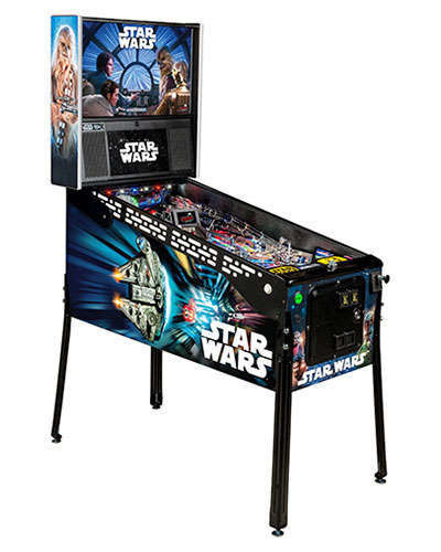 Star Wars Limited Edition Pinball at Joystix
