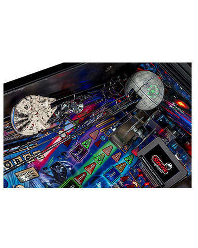Star Wars Limited Edition Pinball details 1 at Joystix