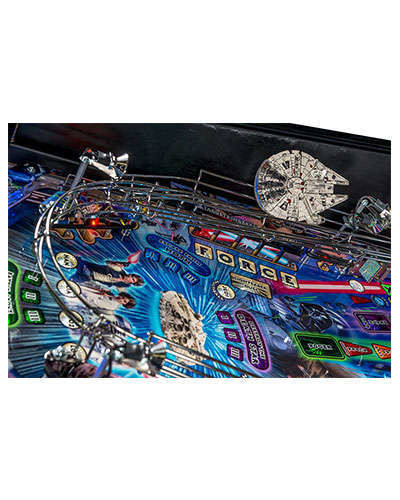 Star Wars Limited Edition Pinball details 2 at Joystix