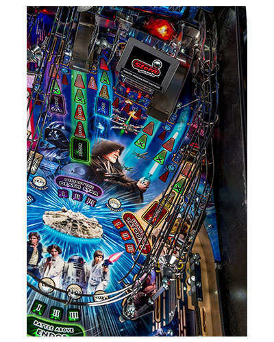 Star Wars Limited Edition Pinball details 3 at Joystix