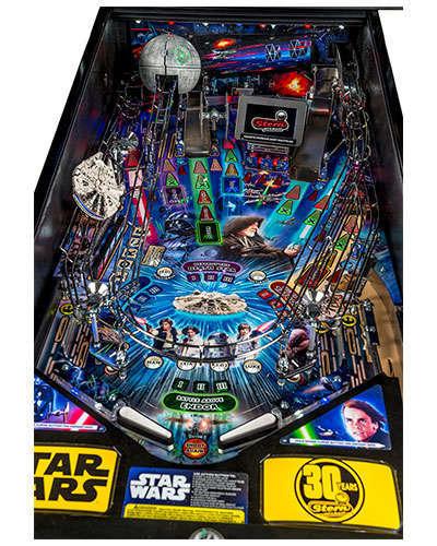Star Wars Limited Edition Pinball details 4 at Joystix