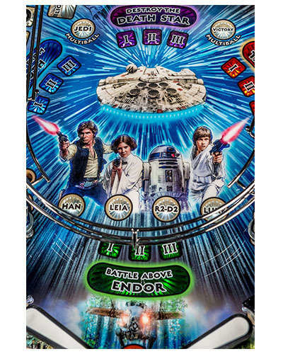 Star Wars Limited Edition Pinball details 5 at Joystix