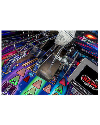 Star Wars Limited Edition Pinball details 6 at Joystix