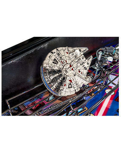 Star Wars Limited Edition Pinball details 7 at Joystix