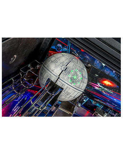 Star Wars Limited Edition Pinball details 8 at Joystix