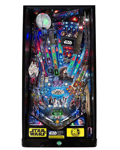Star Wars Limited Edition Pinball playfield at Joystix