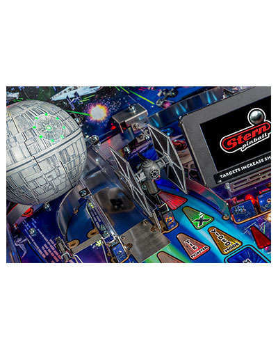 Star Wars Pro Pinball details 1 at Joystix