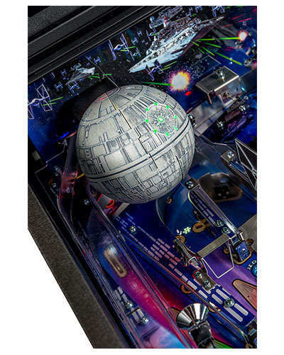 Star Wars Pro Pinball details 2 at Joystix