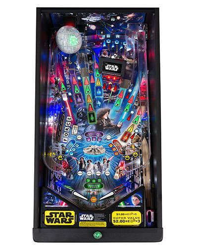 Star Wars Pro Pinball playfield at Joystix