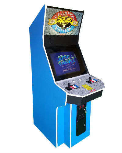 Street Fighter II Champion Edition arcade game at Joystix