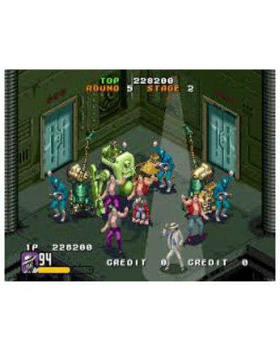 michael jackson moonwalker arcade at joystix screen shot 3