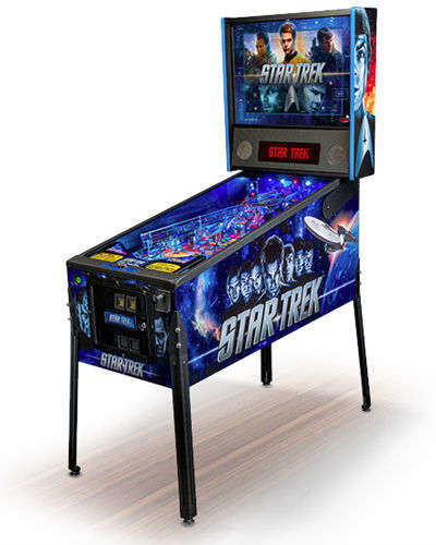 stern star trek pinball joystix houston
