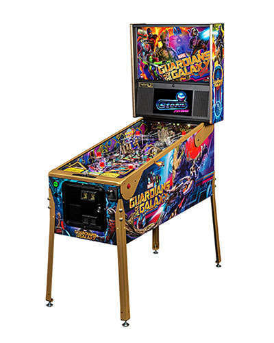 Guardians of the Galaxy Limited Edition Pinball at Joystix