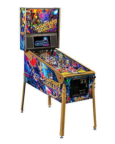 Guardians of the Galaxy Limited Edition Pinball cabinet 2 at Joystix