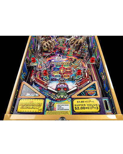 Guardians of the Galaxy Limited Edition Pinball details 2 at Joystix