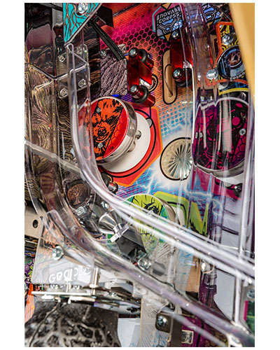 Guardians of the Galaxy Limited Edition Pinball details 6 at Joystix