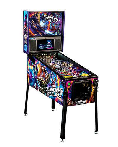 Guardians of the Galaxy Premium Edition Pinball cabinet 2 at Joystix