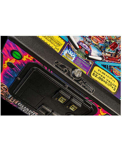 Guardians of the Galaxy Premium Edition Pinball details 1 at Joystix