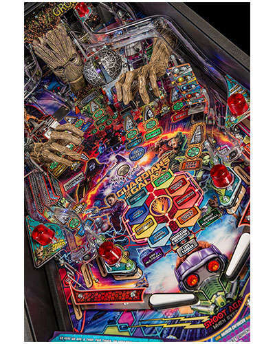 Guardians of the Galaxy Premium Edition Pinball details 2 at Joystix