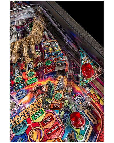 Guardians of the Galaxy Premium Edition Pinball details 3 at Joystix