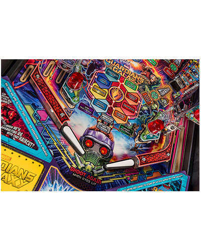 Guardians of the Galaxy Premium Edition Pinball details 4 at Joystix