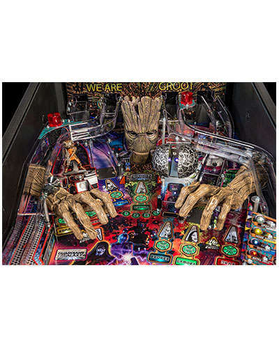 Guardians of the Galaxy Premium Edition Pinball details 5 at Joystix