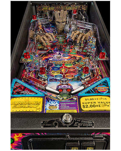 Guardians of the Galaxy Premium Edition Pinball details 6 at Joystix