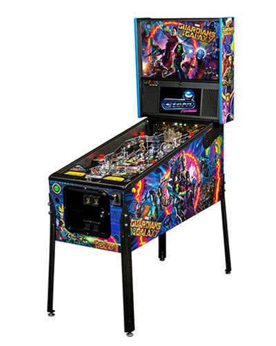 Guardians of the Galaxy Pro Edition Pinball at Joystix