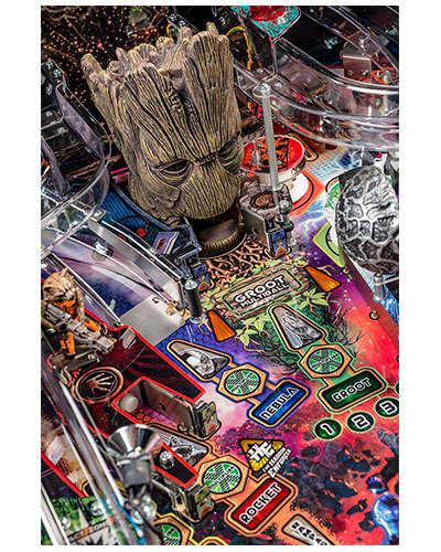 Guardians of the Galaxy Pro Edition Pinball details 2 at Joystix