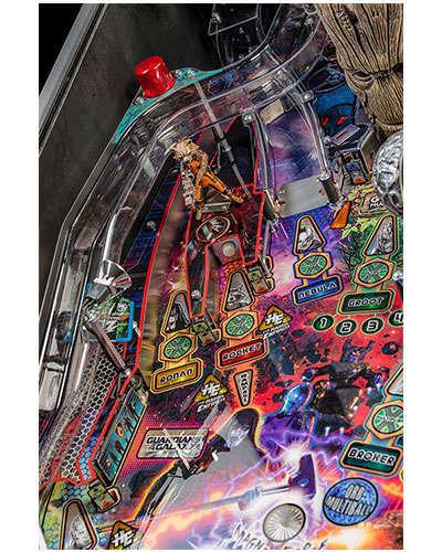 Guardians of the Galaxy Pro Edition Pinball details 4 at Joystix