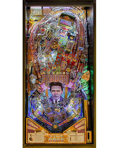 Houdini Master of Mystery Pinball Playfield at Joystix