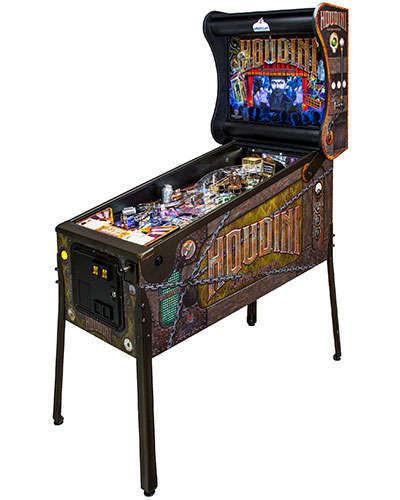 Houdini Master of Mystery Pinball at Joystix