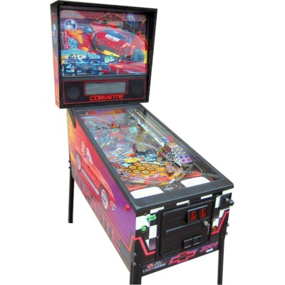 CORVETTE PINBALL AT JOYSTIX