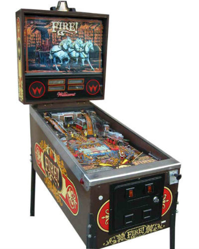 FIRE PINBALL AT JOYSTIX