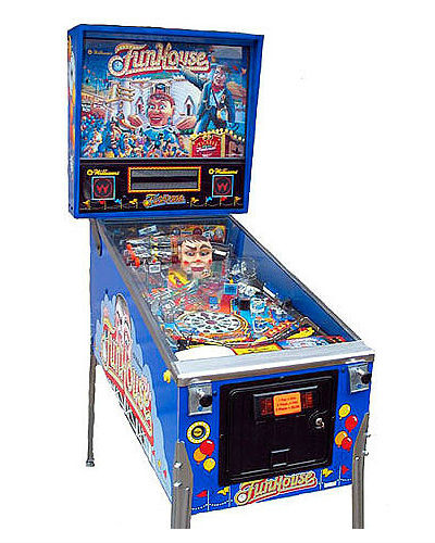 FUNHOUSE PINBALL AT JOYSTIX