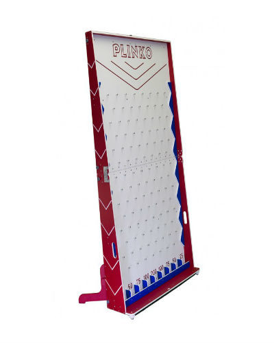 GIANT PLINKO SIDE VIEW AT JOYSTIX