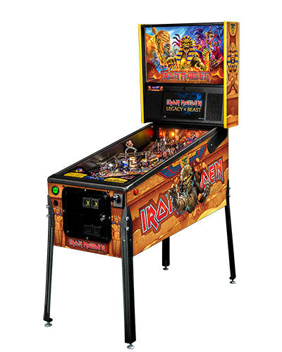 IRON MAIDEN PREMIUM PINBALL FRONT AT JOYSTIX