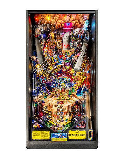 IRON MAIDEN PREMIUM PINBALL PLAYFIELD AT JOYSTIX