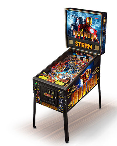 IRON MAN PINBALL AT JOYSTIX 2
