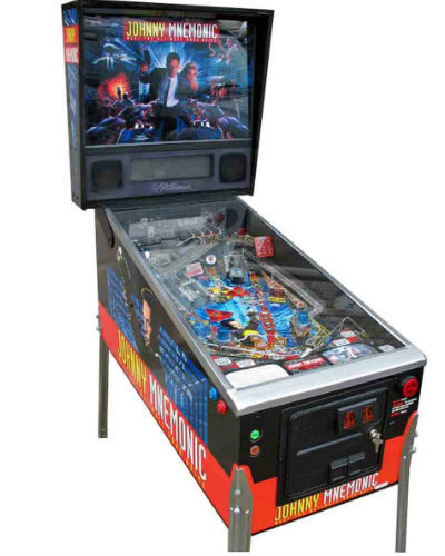 Johnny mnemonic pinball at joystix
