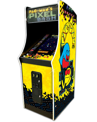 Pac Man's Pixel Bash Coin op at joystix